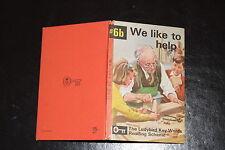 Ladybird Key Words  Reading Scheme Peter & Jane 6b We like to help 15p