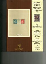Catalogo Oferta de sellos Filafinsa Octubre 1996
