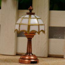 1:12 Doll house Miniature LED Mini Desk  Lamp Light Battery Operated