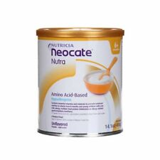 4 cans / 1 case NEOCATE NUTRA Powder Semi-solid Formula Unflavored FAST Shipping