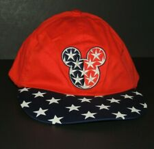 Mickey Unlimited / Mickey Mouse USA Boys Youth One Size Red White Blue Hat / Cap