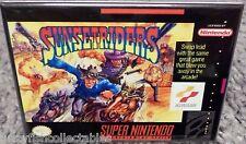 "Sunstriders Snes Game Box 2"" x 3"" Fridge Locker Magnet Nintendo"