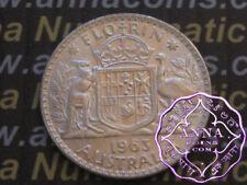 Australia 1963 QEII Florin X1, High Condition