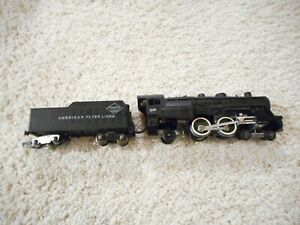 S SCALE AMERICAN FLYER #301 4-6-2 WITH SMOKE UNIT ADDED