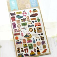 Travel Story Stickers Lovely Journey Novelty Craft Scrapbook Card DIY #241