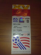 Ticket 1994 World Cup Sweden - Cameroon Game #8