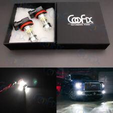 2x 100W H10 9145 High Power LED CREE 6000K White Fog Lights Driving Bulbs DRL #2