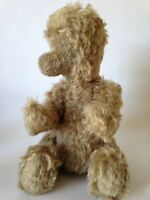 Vintage MOHAIR Bear Plush RARE FACELESS TEDDY Jointed Antique BING Bear ??  15""