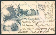 Hungary Moszgo Mosgorol Gruss postcard cartolina EE3314