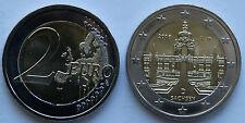 2016 German 2 EURO COIN SACHSEN SAXONY DRESDEN BU MINT UNC - A Berlin mint - NEW