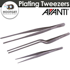 [3pcs Set]Avanti Stainless Steel Plating Tweezers Plating Tongs Serving Present