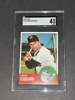 1963 Topps #103 Chuck Essegian SGC 4 Newly Graded & Labelled