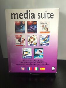 Media Suite PC software CD ROM 8 Programmes