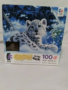 "Ceaco Schimmel Bed of Clouds Glow in the Dark 100 Pc Puzzle ""New Factory Sealed"""