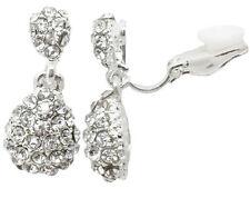 Crystal Costume Earrings