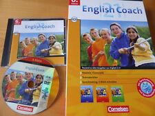 Cornelsen Lernsoftware 6.Klasse English Coach CD Gesamtprogram Vokabeln Gymnasiu