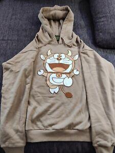 Gucci X Doraemon Hoodie Beige size M