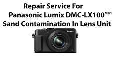 Repair Service For Panasonic Lumix DMC-LX100 MK1 Sand Contamination In Lens Unit