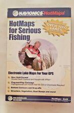 D Navionics HotMaps Serious Fishing Maps Digital Marine Map 2004 Gold Edition