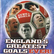 Englands Greatest Goals Ever (Up to 2004) -  DVD N/Paper