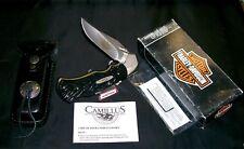 Camillus HD-1 Lockback Knife Harley Davidson 1998-H.D. & Packaging,Papers W/Tool