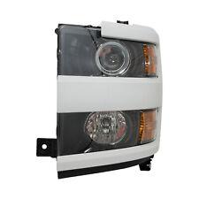84388596 Headlamp Assembly Left Summit White GAZ New OEM GM 2015-19 Silverado HD