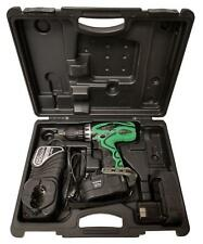 Hitachi DS18DVF3 Drill Kit W/ 2 Ni-Cd Batteries And Charger Carrying Case