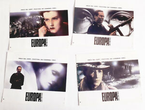 Jeu complet de 4 photos - EUROPA - Lars Von trier