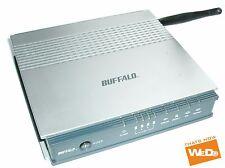 BUFFALO WBMR-G125 WIRELESS G 125Mbps ADSL2 MODEM / ROUTER