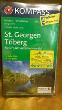 Wanderkarte Langlauf Radkarte Schwarzwald wandern Schönwald Schonach Triberg GPS