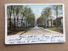 Montreal Mc Gill University Quebec Campus Antique Postcard Posted 1907 Color