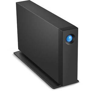 4TB Seagate LaCie D2 Professional USB3.1 External Hard Drive - Black