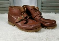 Polo Ralph Lauren Mens Boots Rumford Brown Suede Leather Hiking US 13 D