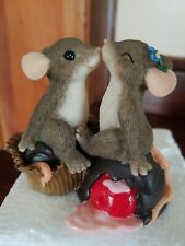 Dean Griff- Charming Tails - Candy Kisses #84/108 Nib Valentines Figurine