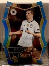 2016-17 Panini Select Soccer Julian Draxler Light Blue Die Cut Refractor 054/249