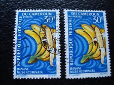 cameroon - stamp yvert and tellier n° 449 x2 obl (A33) stamp (C) Cameroon