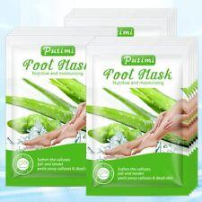 3pairs=6pcs Exfoliating Aloe Peeling Foot Mask Feet-care Whitening Moisturizing