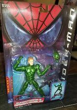 Green Goblin Super Poseable Figure Spiderman Movie 2001 Toy Biz Marvel