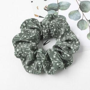 Bellflower Small Flower Hair Ties Chiffon Scrunchies Elastic Hair Ring Headwear