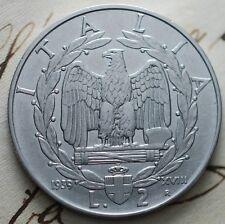1939  Regno D'Italia  2  lire    non magnetiche