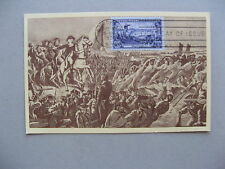 USA, maximumcard maxi card 1951, Washington saves his army at Brooklyn