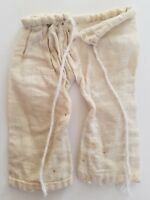 A36 Antique Doll Pants Small Bloomers Teddy Bear Primitive Hand stitched