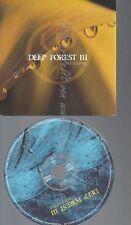 CD--PROMO--DEEP FOREST III--COMPARSA--13 TRACKS