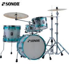 Sonor AQ2 Series BOP Drum Set Shell Pack Aqua Silverburst 18x14_14x13_12x8_14x6