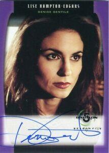 BABYLON 5 1998 Season 5 Autograph Card A07  Denise Gentile!! LISE HAMPTON EDGARS