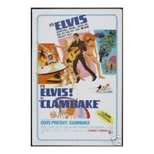 Clambake Elvis Presley Wall Poster Art 12x18 Free Shipping