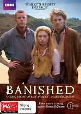 Banished (DVD, 2015 release, 3-Disc Set)