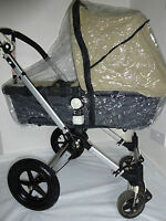 CAMELEON 3 CARRYCOT BNIP koodee uk Raincover To fit BUGABOO CAMELEON