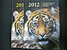 Collection of 2012 Australian Stamps Deluxe YearBook - NEW as issued by AP