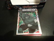 MARVEL AVENGERS HERO ATTAX  (NEW 2015) ABOMINATION HOLOGRAPHIC FOIL CARD